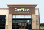 CareSpot Blue Springs is in partnership with HCA Midwest Health and offers a variety of urgent care services, including on-site X-rays and lab work, in addition to physicals and vaccinations. It is conveniently located off I-70 in the Adams Dairy Landing area, across from Target and Kohl's department stores. (PRNewsFoto/CareSpot)
