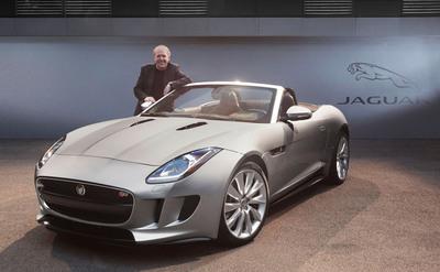 2014 Jaguar F-TYPE Named 2013 World Car Design of the Year.  (PRNewsFoto/Jaguar)