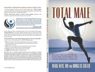 """Is Low Libido Keeping You Down? Douglas Ginter's New Book """"Total Male"""" Suggests Waning Sexual Health Can Wreak Havoc on Overall Wellness, Cause Serious, Long-term Health Problems"""