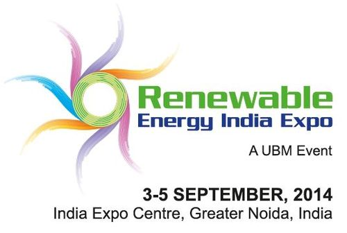 Logo of Renewable Energy India (PRNewsFoto/UBM India)