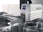 ZEISS ROTOS roughness sensor on coordinate measuring machine