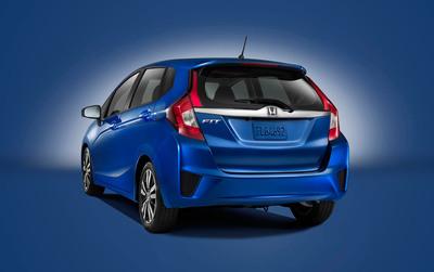 2015 Honda Fit revealed at the North American International Auto Show on January 13. (PRNewsFoto/Honda) (PRNewsFoto/HONDA)