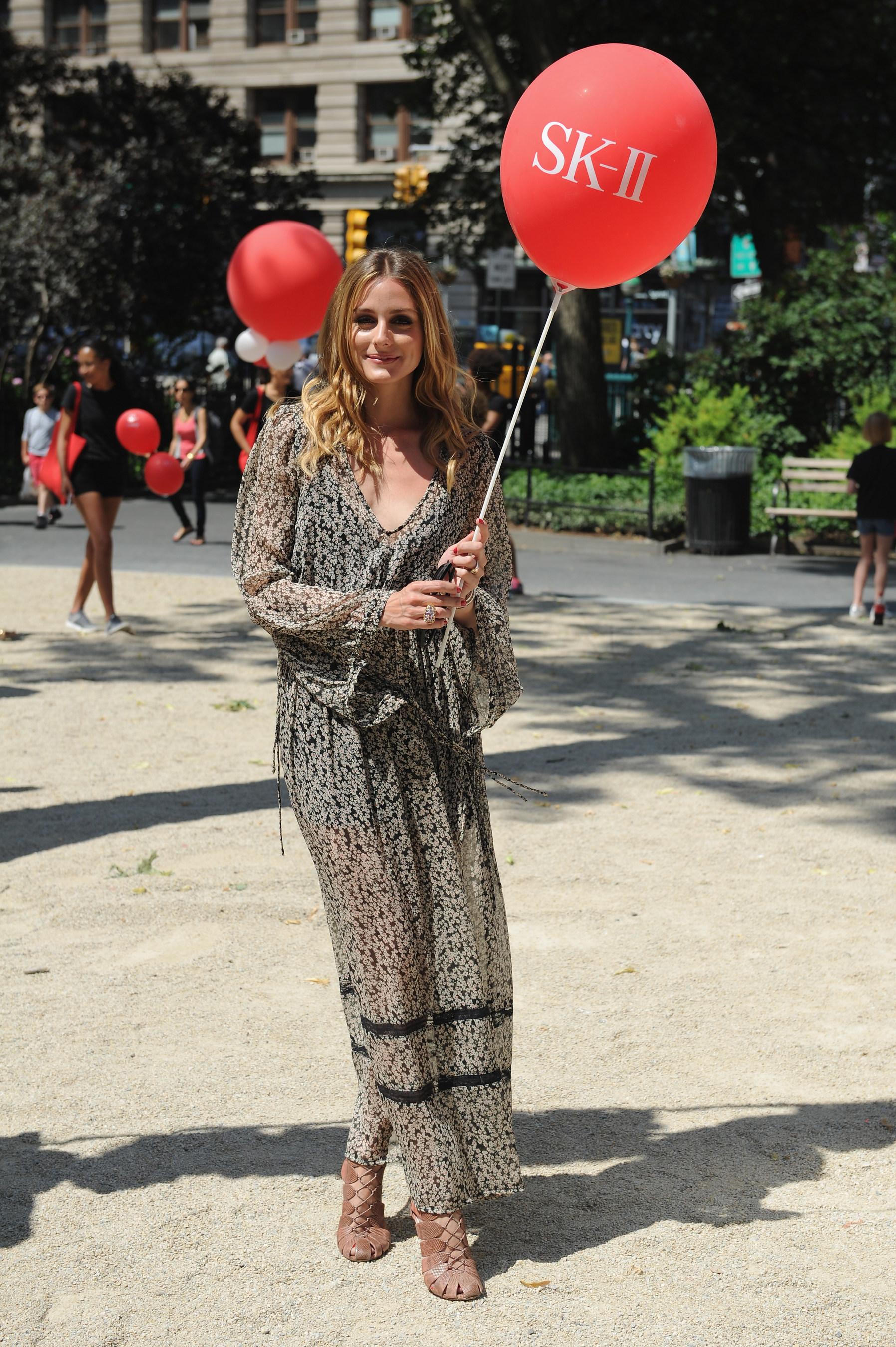 "Olivia Palermo at the SK-II ""Dream Again"" Event in Madison Square Park, NYC"