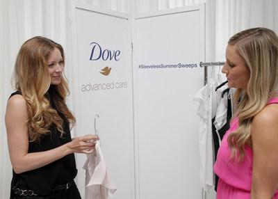 Dove Advanced Care Deodorant and Fashion Stylist, Erin Walsh, Prepare Women for Sleeveless Season (PRNewsFoto/Dove)