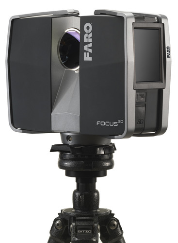 FARO Launches the Focus3D, The Smallest & Lightest 3D Laser Scanner Ever Built.  (PRNewsFoto/FARO Technologies,  ...