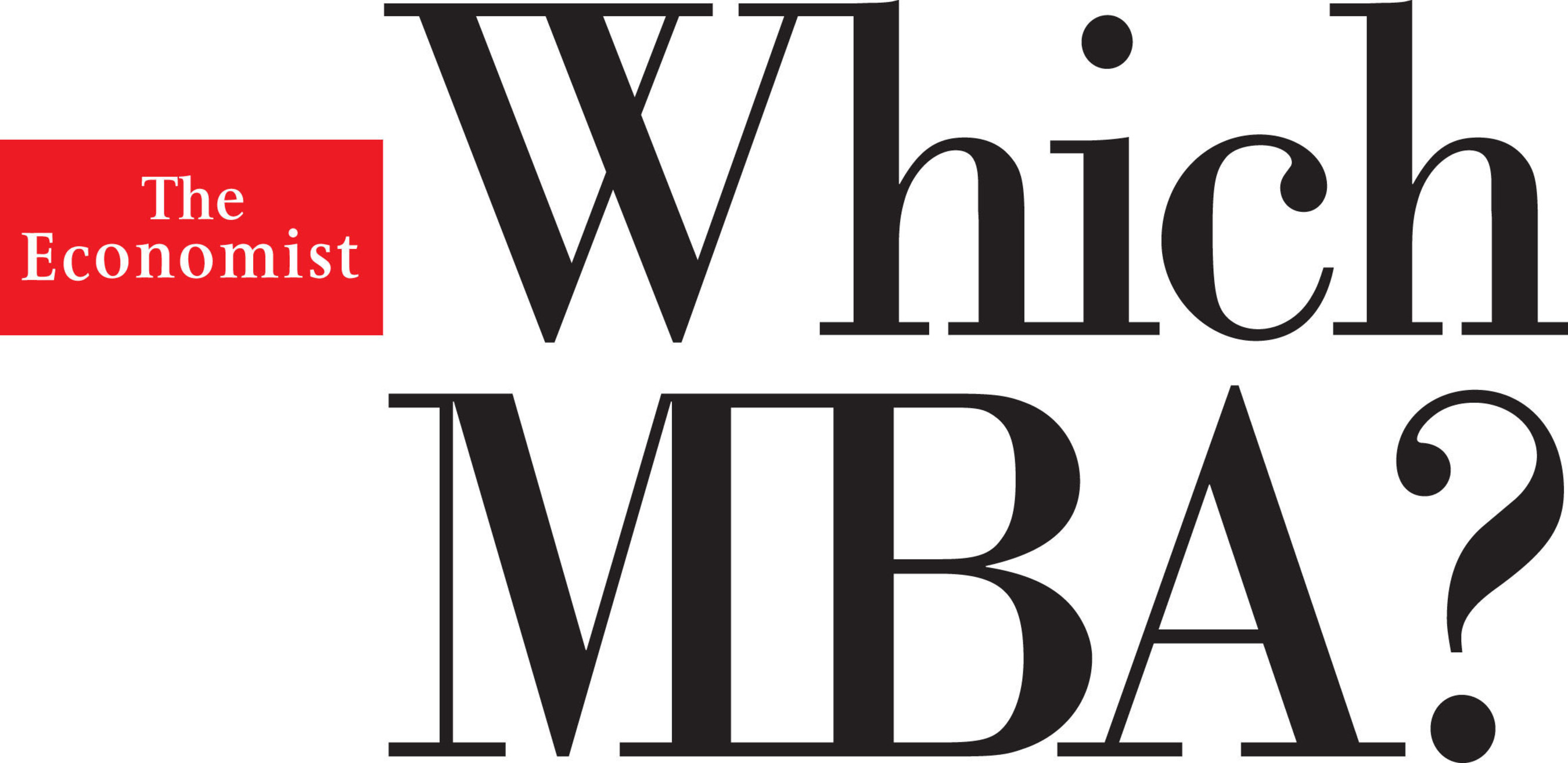 The Economist Which MBA?