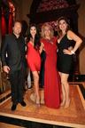 Michael Ohoven, Joyce Giraud, Elizabeth Glimenaki and Tanya Thicke (PRNewsFoto/HOTEL LE ST-JAMES MONTREAL)