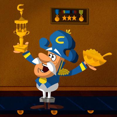 Cap'n Crunch Celebrates 50 Years at the Helm of Cereal Brand. (PRNewsFoto/PepsiCo) (PRNewsFoto/PEPSICO)