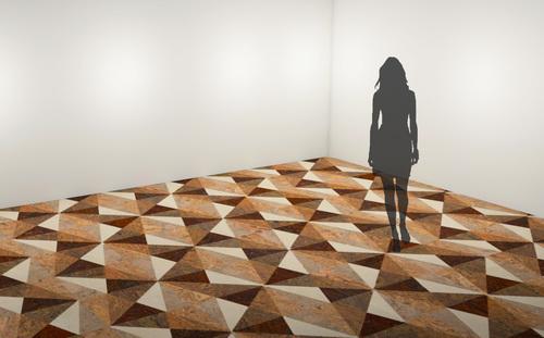 Globus Cork Floor Design Competition Winner (PRNewsFoto/Globus Cork Inc.)