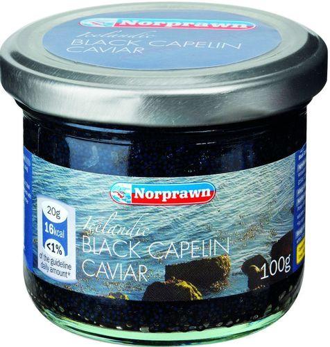 Lidl Norprawn Icelandic Black Capelin Caviar (PRNewsFoto/Lidl UK)