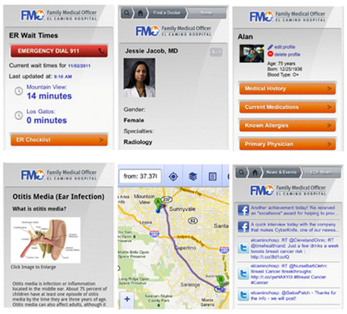 El Camino Hospital Launches New Mobile App for the Family Medical Officer™ (FMO)