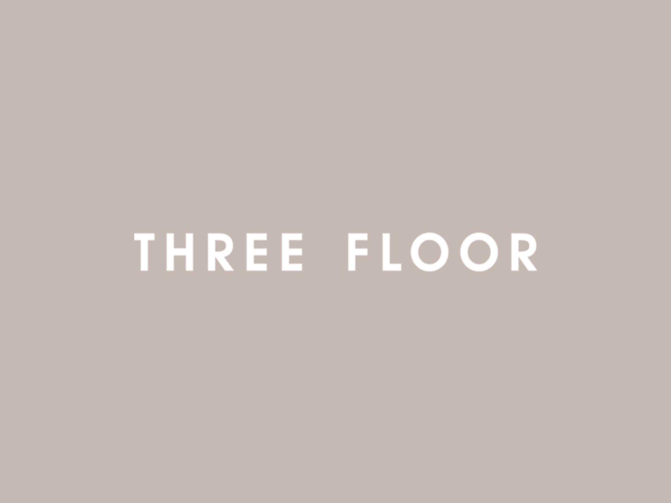 THREE FLOOR Logo (PRNewsFoto/THREE FLOOR)