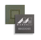 The Marvell(R) 88SS1093 NVMe SSD controller (PRNewsFoto/Marvell)
