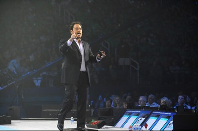 Vice President of Mobile and Social at Market America | SHOP.COM, Steve Ashley, at the Market America | SHOP.COM International Convention