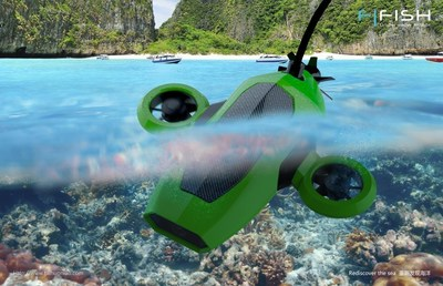 Rediscover the Sea! Meet FiFish, the First Ever Consumer Market Oriented Smart ROV by Taihuoniao D3IN Labs