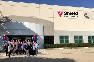 Shield HealthCare's Grand Opening of New Carrollton, TX facility.