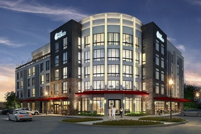 Rendering of Hotel Indigo(R) Tuscaloosa Downtown at Riverfront Village
