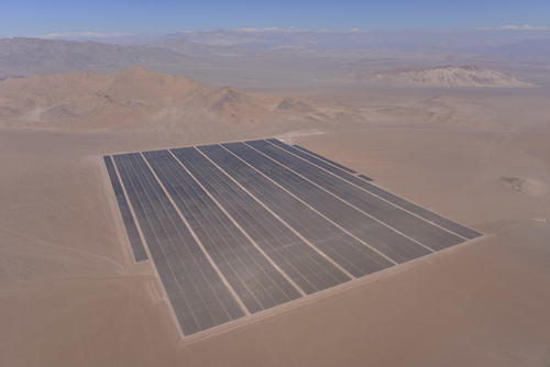 President Bachelet of Chile Inaugurates Latin America's Largest Solar Photovoltaic Power Plant