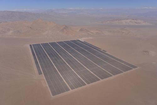 SunEdison 100 MW Amanecer Solar CAP Power Plant (PRNewsFoto/SunEdison, Inc.)