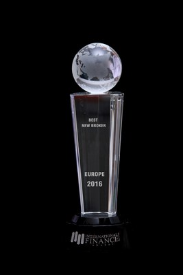 ForexMart is recognized as a Best New Broker, Europe 2016 (PRNewsFoto/ForexMart)