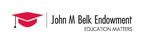 The John M. Belk Endowment is a private family foundation based in Charlotte, N.C., that will award more than $13 million annually in grants to N.C. organizations aligned with its new mission. The John M. Belk Endowment works to empower the 21st century workforce in North Carolina by creating pathways to prosperity for underrepresented students by increasing their access to and completion of higher educational opportunities in North Carolina. (PRNewsFoto/John M. Belk Endowment)