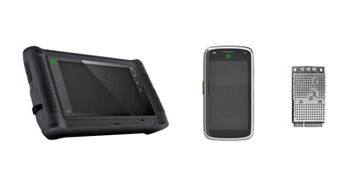 Updated Elektrobit Specialized Device Platform Portfolio: Android Tablet, Smartphone and Module.  (PRNewsFoto/Elektrobit)