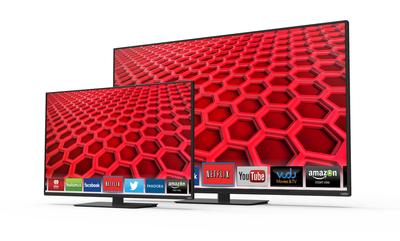 VIZIO 2014 E-Series Full-Array LED backlit HDTV collection now available at retailers such as Amazon, Best Buy, Costco, Sam's Club, Target, VIZIO.com and Walmart - features Full-Array LED backlighting with Active LED Zones and the latest smart TV platform, VIZIO Internet Apps Plus. (PRNewsFoto/VIZIO, Inc.) (PRNewsFoto/VIZIO, INC.)