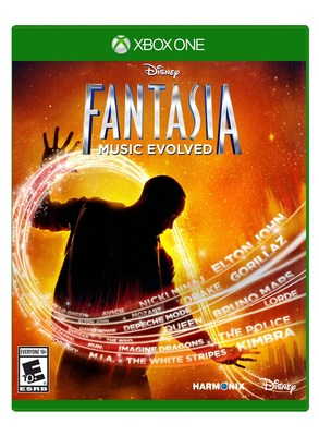 Disney Fantasia: Music Evolved Box Art.
