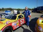 Former NFL linebacker Dan Bunz will drive the Interstate Plastics sponsored #57 NASCAR. (PRNewsFoto/Interstate Plastics)