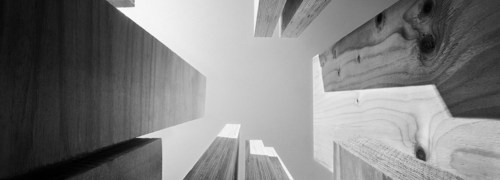 Fast, Light and Green photo series captures the essence of the future of building (PRNewsFoto/Metsa Wood)