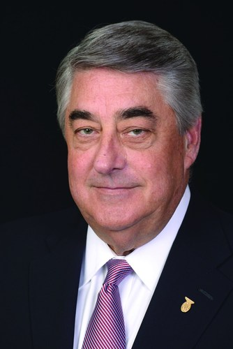 Monte Belger, 2014 honoree of the Air Traffic Control Association (ATCA)'s Glen A. Gilbert Memorial Award. ...