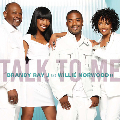 "Fresh off her success on Dancing with the Stars Brandy joins Brother Ray J, father Willie and Mother Sonia on new single ""Talk To Me"" from upcoming Brandy & Ray J: A Family Business album on SRR (Saguaro Road Rhythm) Records.  (PRNewsFoto/Time Life; Saguaro Road Rhythm)"