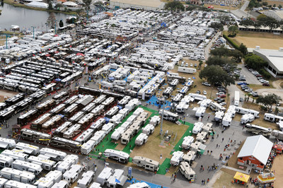 The Florida RV SuperShow in Tampa, the Largest RV Show in the Country with over 1,300 RVs direct from the manufacturers.  Also hundreds of supply and accessory booths, entertainment, seminars and loads of food!  This year we're proud to host The Wall That Heals, the 1/2 scale replica of the Vietnam War Memorial in Washington, DC.  Contact frvta.org for more information.