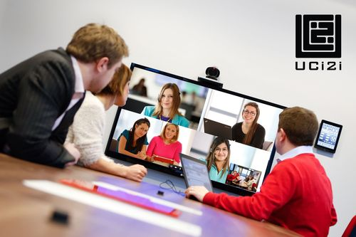 'Multi-party video conferencing can now be completely managed by the user, giving them the power.' (PRNewsFoto/UCi2i)