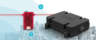 uAvionix pingRX ADS-B receiver and PrecisionHawk LATAS