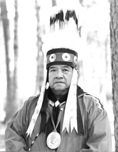 Chief Oscola Clayton Sylestine.  (PRNewsFoto/Alabama-Coushatta Indian Tribe of Texas)