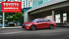 The 2015 Toyota Camry has been completely redesign to attract a new generation of customers that are looking for reliability and style. (PRNewsFoto/Toyota of Naperville)