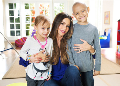 Sofia Vergara joins the St. Jude Thanks and Giving campaign this holiday season.  (PRNewsFoto/St. Jude Children's Research Hospital)