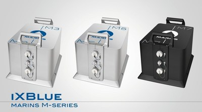 iXBlue MARINS M-Series, designed to meet the demands of the navy for the highest performance INS.