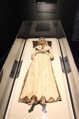 The scan of the mummy from Vac, Veronica Orlovits, was organized to help determine the mummy's state of ...