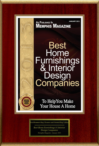 Fred Remmers Rug Cleaners and Oriental Rug Gallery Selected For 'Best Home Furnishings & Interior