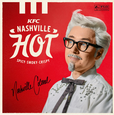 KFC is bringing back its spicy, smoky Nashville Hot Chicken with a new rebellious Nashville Hot Colonel played by actor Vincent Kartheiser.