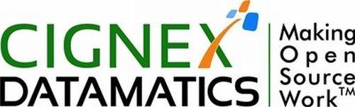 CIGNEX Datamatics Logo (PRNewsFoto/CIGNEX Datamatics)