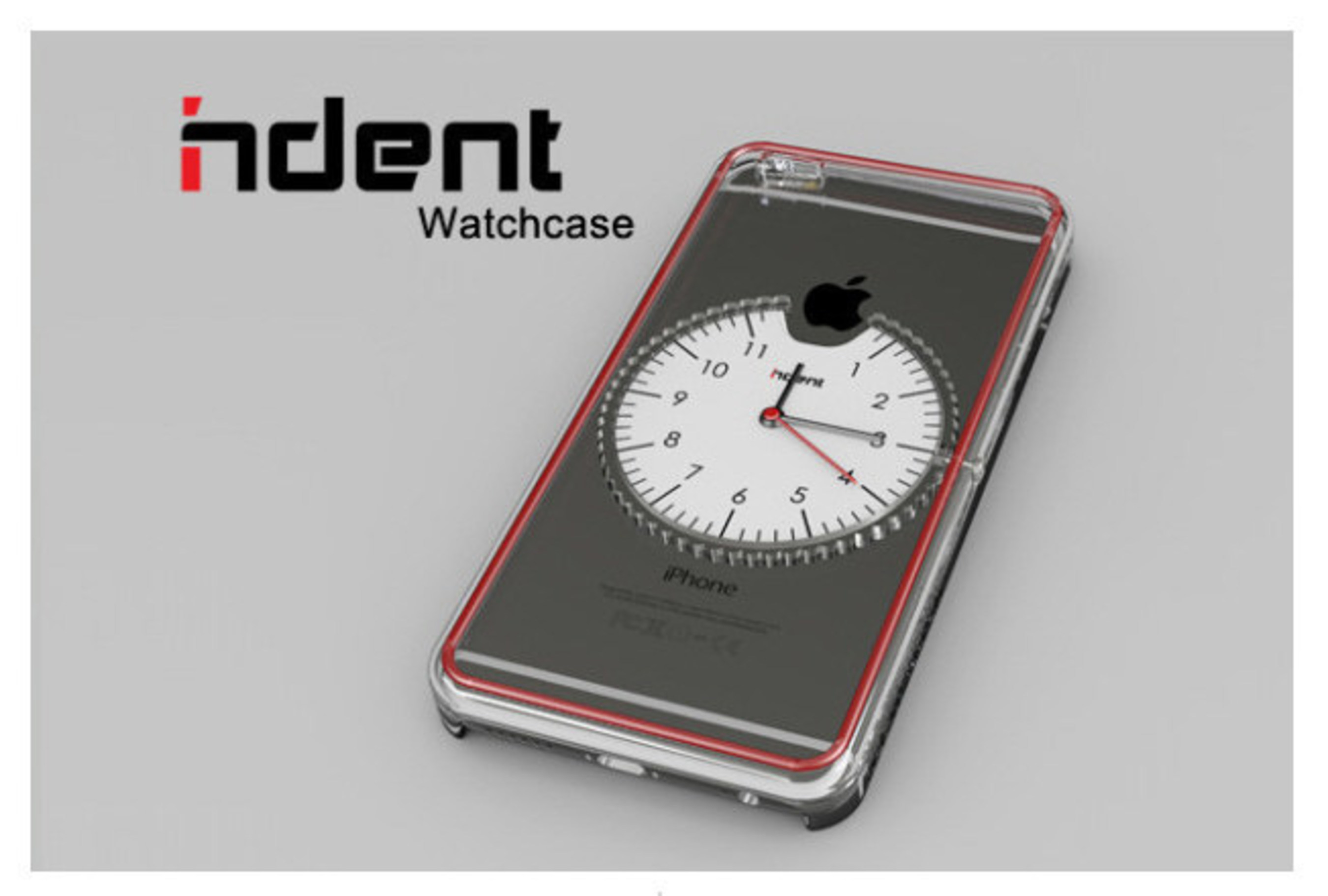 InDent Watchcase: Less Tech, More Time