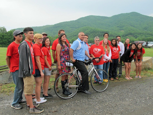 Remember the Removal Bike Riders Retrace Cherokee History