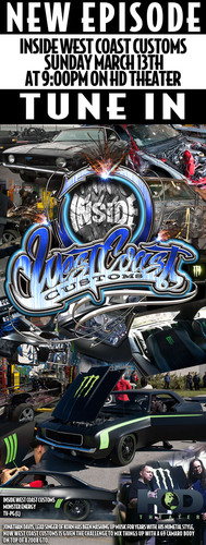 Renowned TV Show Builders West Coast Customs Team Up With Monster Energy and Jonathan Davis of KoRn