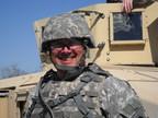 Brian Habel, member of the U.S. National Guard, named Ashford University's Outstanding Alum of the Week. (PRNewsFoto/Ashford University)