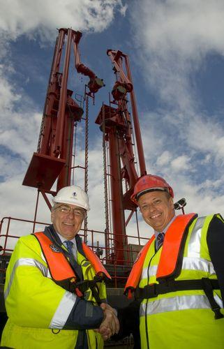 Le jalon des dix millions de tonnes de carburéacteur atteint dans le port de Bristol