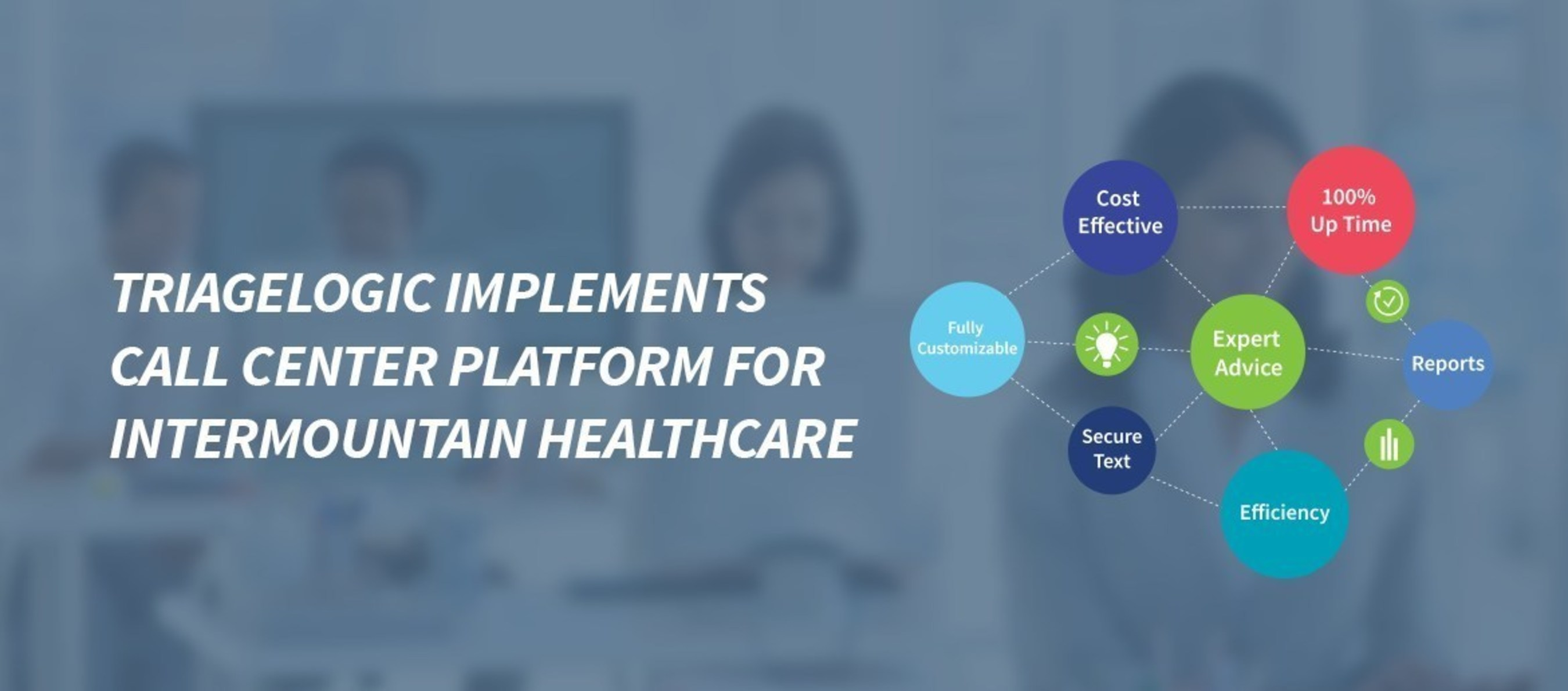 TriageLogic ' Implements Call Center Platform for Intermountain Healthcare