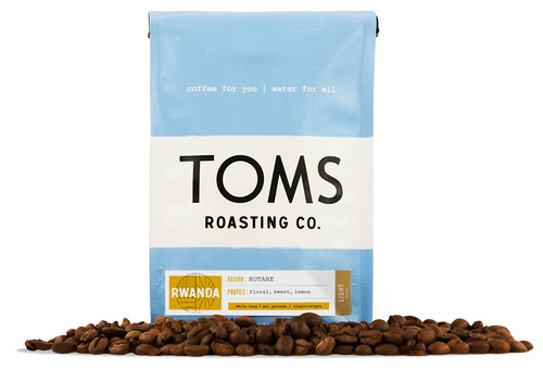 For every bag of TOMS Roasting Co. coffee purchased, TOMS will provide one week of water to a person in need. ...